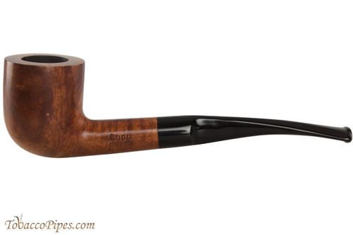 Capri Gozzo 54 Tobacco Pipe - Bent Pot Smooth