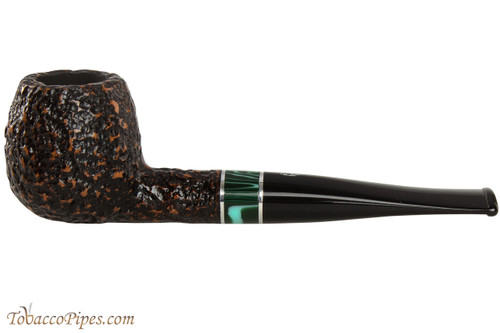 Savinelli Impero 207 Rustic Tobacco Pipe - Apple