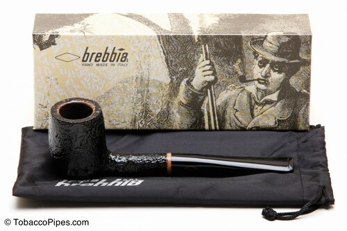 Brebbia 1960 Sabbiata Nera 1005 Tobacco Pipe Kit
