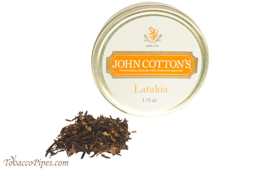 John Cotton's Latakia Pipe Tobacco