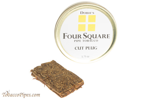 Dobie's Four Square Cut Plug Pipe Tobacco