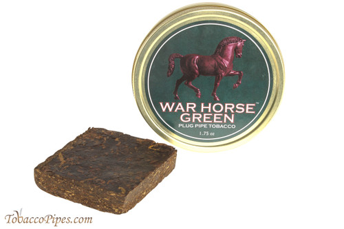 War Horse Green Plug Pipe Tobacco