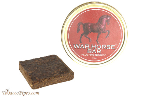 War Horse Bar Plug Pipe Tobacco
