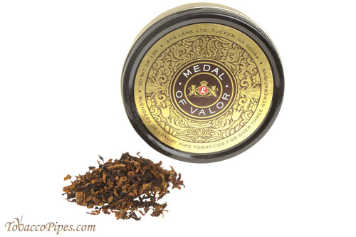Lane Limited Medal of Valor Pipe Tobacco Tin - 1.75 oz