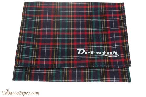 Decatur Roll-Up Pouch - Black Plaid