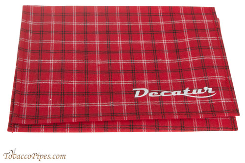 Decatur Roll-Up Pouch - Red Plaid