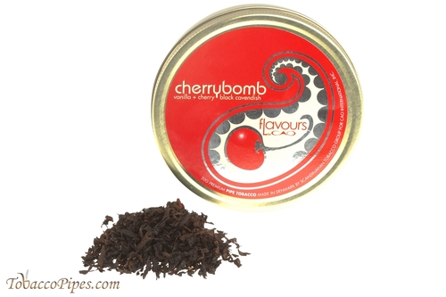 CAO Cherrybomb Pipe Tobacco Tin