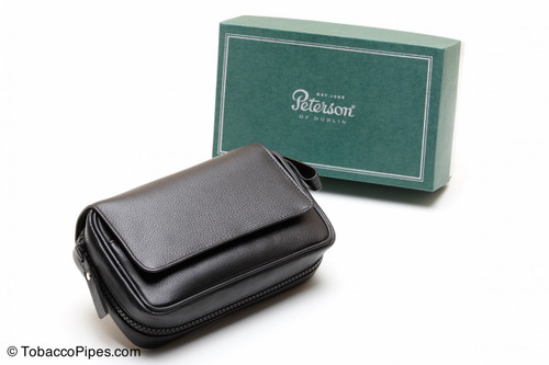 Peterson 2 Pipe Large Bag Pipe Pouch Box