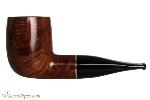 Savinelli La Corta 101 C Smooth Tobacco Pipe - Billiard