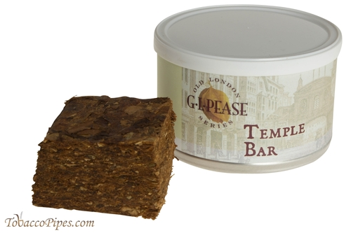 G.L. Pease Temple Bar Pipe Tobacco