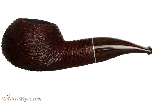 Savinelli Mega 320 Brownblast Tobacco Pipe - Author