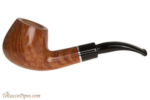 Savinelli Otello 645 KS Natural Tobacco Pipe - Bent Brandy