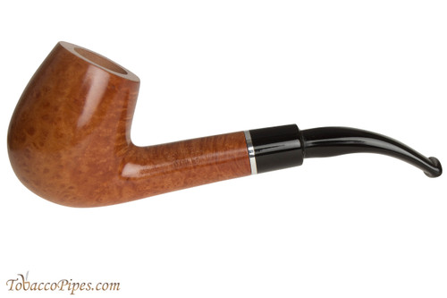 Savinelli Otello 670 KS Natural Tobacco Pipe - Bent Billiard