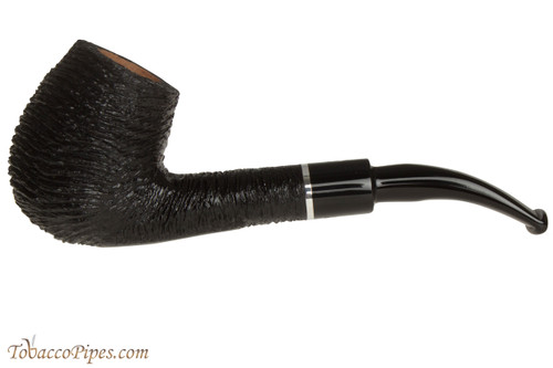 Savinelli Otello 670 KS Rustic Tobacco Pipe - Bent Billiard