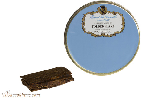 McConnell Folded Flake Pipe Tobacco