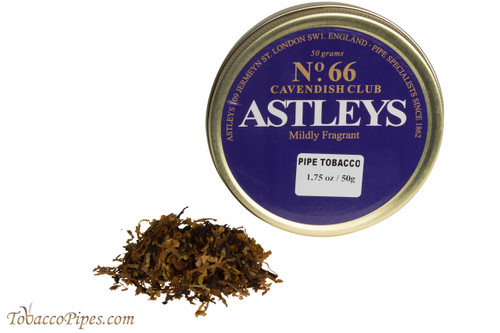 Astleys No. 66 Cavendish Club Pipe Tobacco