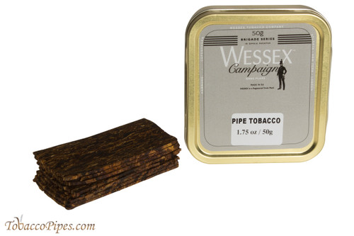 Wessex Brigade Campaign Dark Flake Pipe Tobacco
