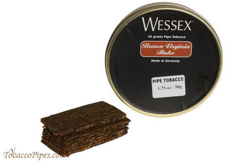 Wessex Brown Virginia Flake Pipe Tobacco