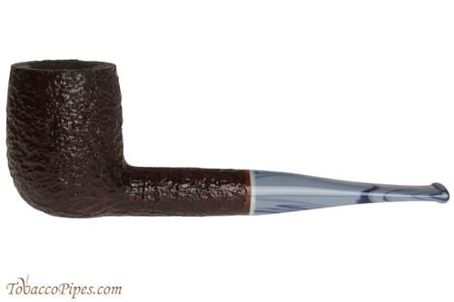 Savinelli Oceano 111 KS Rustic Tobacco Pipe - Billiard
