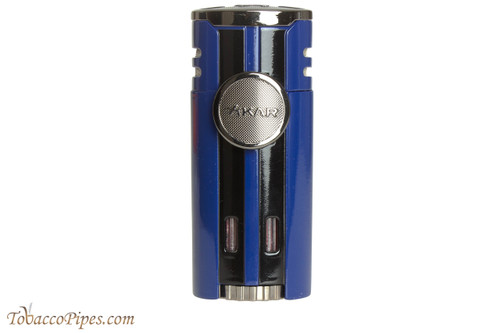 Xikar HP4 Quad Cigar Lighter - Blue