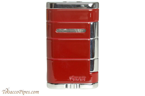 Xikar Allume Double Cigar Lighter - Red