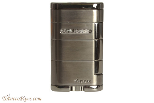 Xikar Allume Double Cigar Lighter - Gunmetal