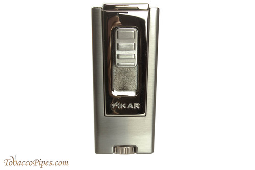Xikar Trezo Triple Cigar Lighter - Gunmetal