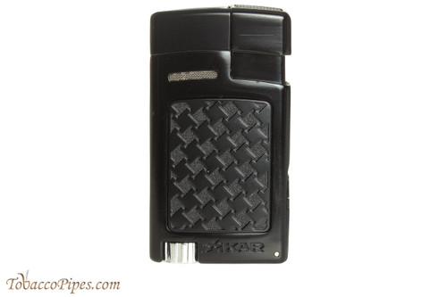 Xikar Forte Soft Flame Cigar Lighter - Black Textured