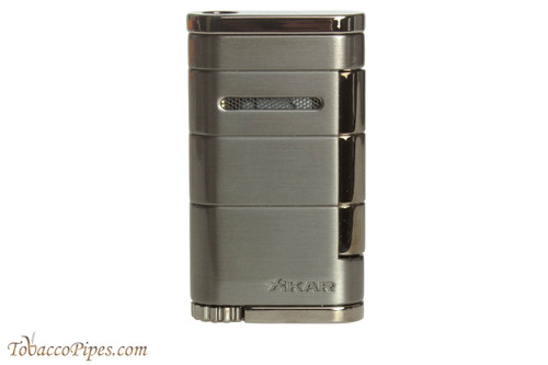 Xikar Allume Single Flame Cigar Lighter - Gunmetal