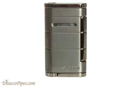 Xikar Allume Single Flame Cigar Lighter - Gunmetal