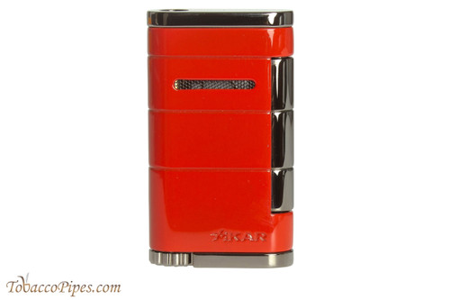 Xikar Allume Single Flame Cigar Lighter - Red