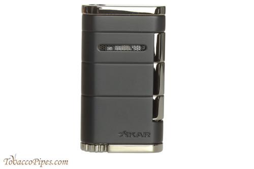 Xikar Allume Single Flame Cigar Lighter - Black