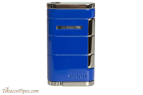 Xikar Allume Single Flame Cigar Lighter - Blue