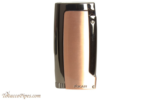 Xikar Pulsar Triple Cigar Lighter - Bronze and Gold