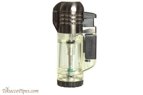 Xikar Tech Triple Cigar Lighter - Clear