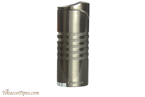 Xikar Ellipse III Triple Cigar Lighter - Grey