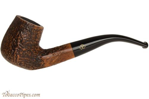 Brigham Santinated 23 Tobacco Pipe - Sandblast