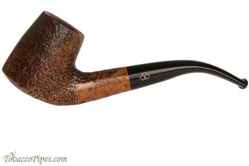 Brigham Santinated 84 Tobacco Pipe - Sandblast