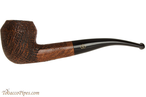 Brigham Santinated 26 Tobacco Pipe - Sandblast