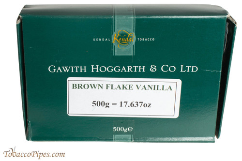 Gawith Hoggarth & Co Brown Flake Vanilla Pipe Tobacco - 500g