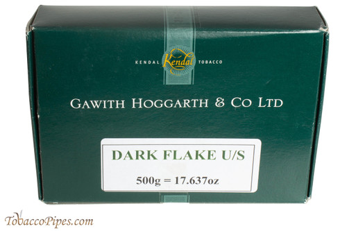 Gawith Hoggarth & Co Dark Flake Unscented Pipe Tobacco - 500g