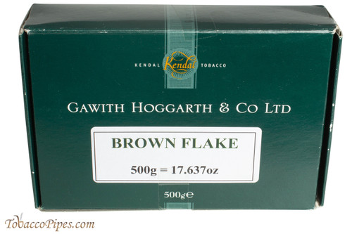Gawith Hoggarth & Co Brown Flake Unscented Pipe Tobacco - 500g