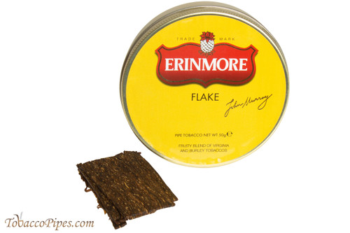 Erinmore Flake Pipe Tobacco Tin