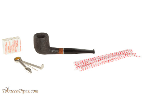 Molina Beginner Set Straight Tobacco Pipe - Sandblast