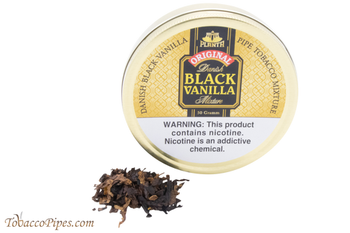 Planta Danish Black Vanilla Pipe Tobacco