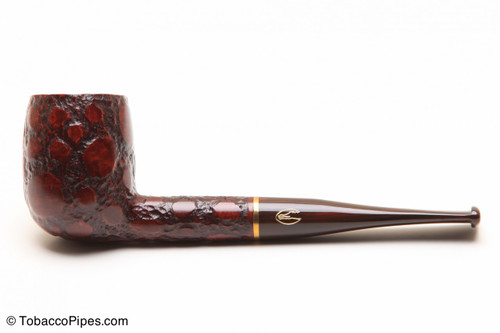Savinelli Alligator Brown 128 Tobacco Pipe Left Side
