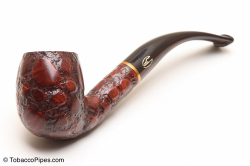 Savinelli Alligator Brown 602 Tobacco Pipe Left Side
