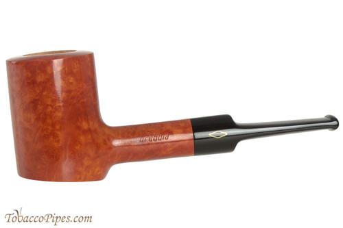 Brebbia Junior Ambra 2710 Tobacco Pipe - Poker