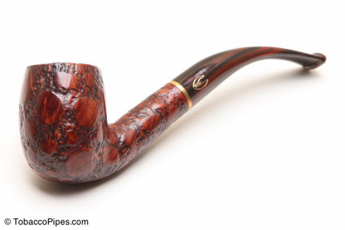 Savinelli Alligator Brown 606 Tobacco Pipe Left Side