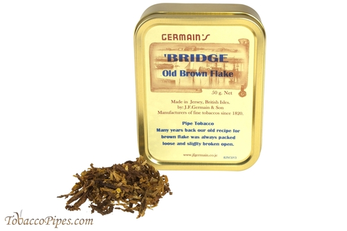 Germain Old Brown Flake Pipe Tobacco - 1.75 oz